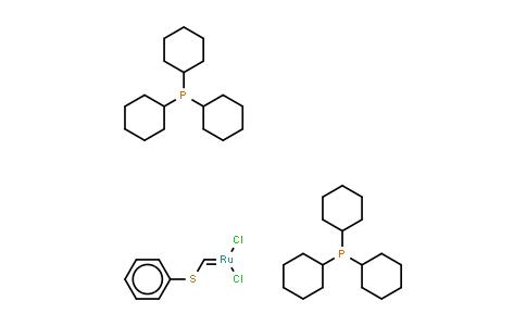 219770-99-7   Bis(tricyclohexylphosphine)[(phenylthio)methylene]ruthenium (II) dichloride