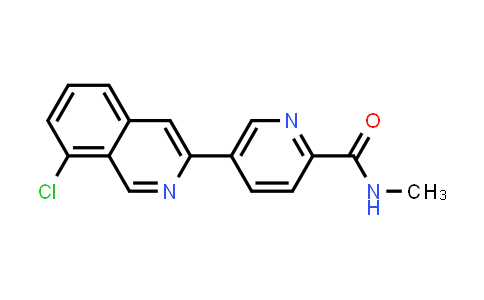 2197909-45-6 | 5-(8-Chloroisoquinolin-3-yl)-N-methylpicolinamide