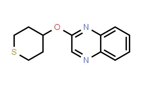 2198125-95-8 | 2-(Thian-4-yloxy)quinoxaline