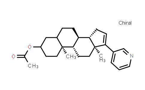 219843-76-2   (8R,9S,10S,13S,14S)-10,13-dimethyl-17-(pyridin-3-yl)-2,3,4,5,6,7,8,9,10,11,12,13,14,15-tetradecahydro-1H-cyclopenta[a]phenanthren-3-yl acetate