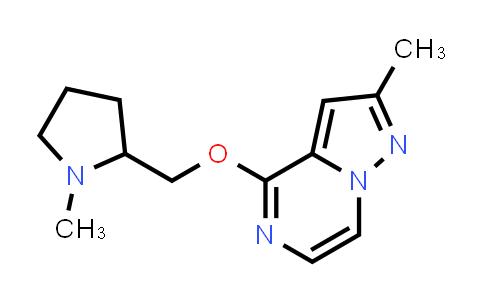 2198436-15-4 | 1-Methyl-2-[({2-methylpyrazolo[1,5-a]pyrazin-4-yl}oxy)methyl]pyrrolidine