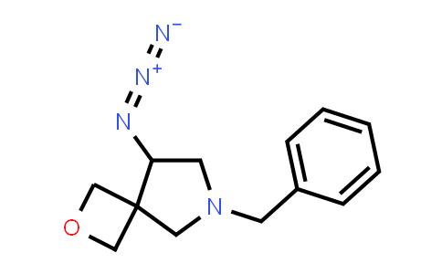 219869-43-9   2-Oxa-6-azaspiro[3.4]octane, 8-azido-6-(phenylmethyl)-