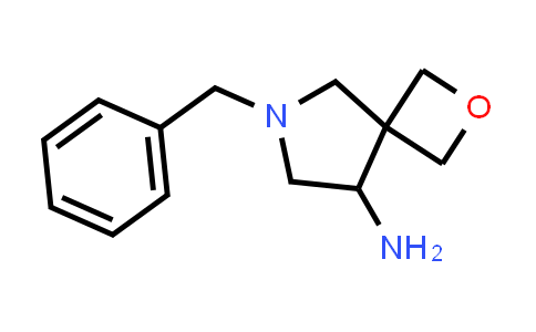 219869-44-0   2-Oxa-6-azaspiro[3.4]octan-8-amine, 6-(phenylmethyl)-