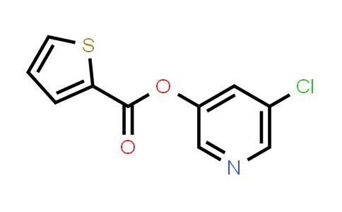 219929-01-8   5-Chloropyridin-3-yl thiophene-2-carboxylate