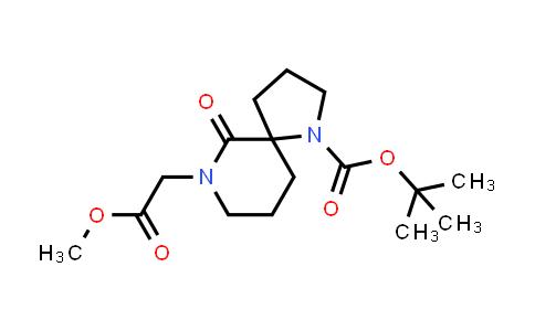 220009-35-8   1,7-Diazaspiro[4.5]decane-7-acetic acid, 1-[(1,1-dimethylethoxy)carbonyl]-6-oxo-, methyl ester
