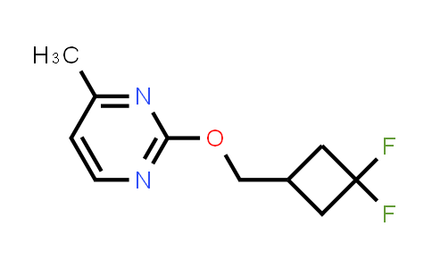 2200107-35-1 | 2-[(3,3-Difluorocyclobutyl)methoxy]-4-methylpyrimidine