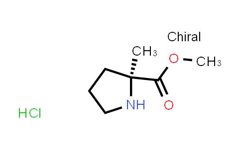 220060-08-2 | Methyl (2S)-2-methylpyrrolidine-2-carboxylate hydrochloride