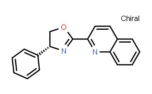 220108-54-3 | (R)-4-Phenyl-2-(quinolin-2-yl)-4,5-dihydrooxazole