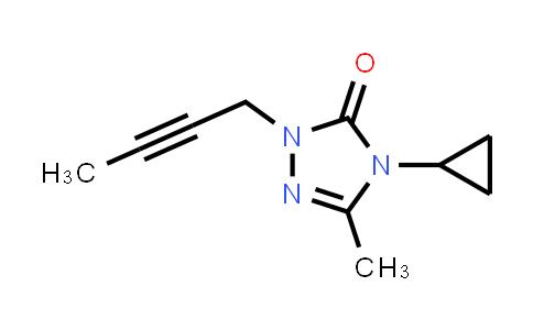 2201201-07-0 | 1-(But-2-yn-1-yl)-4-cyclopropyl-3-methyl-4,5-dihydro-1H-1,2,4-triazol-5-one