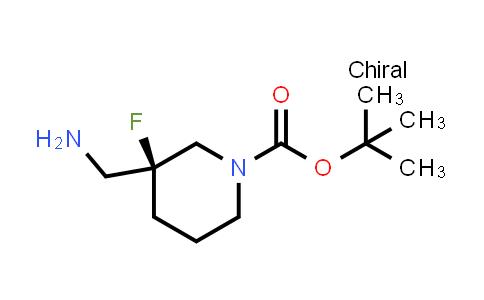 2201582-94-5 | tert-Butyl (S)-3-(aminomethyl)-3-fluoropiperidine-1-carboxylate