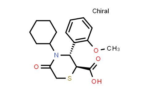 2202011-67-2 | (2S,3R)-4-Cyclohexyl-3-(2-methoxyphenyl)-5-oxothiomorpholine-2-carboxylic acid
