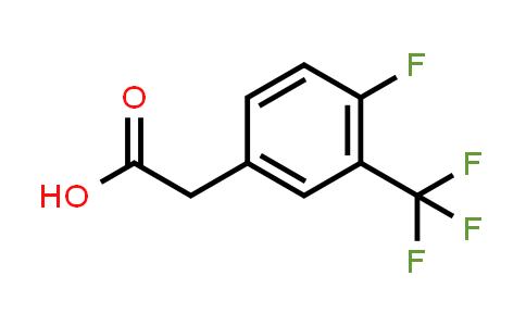 220227-47-4 | 4-Fluoro-3-(trifluoromethyl)phenylacetic acid
