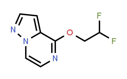 2202505-88-0   4-(2,2-Difluoroethoxy)pyrazolo[1,5-a]pyrazine