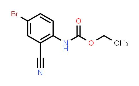 220269-80-7   Ethyl (4-bromo-2-cyanophenyl)carbamate