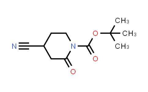 2203403-87-4 | tert-Butyl 4-cyano-2-oxopiperidine-1-carboxylate
