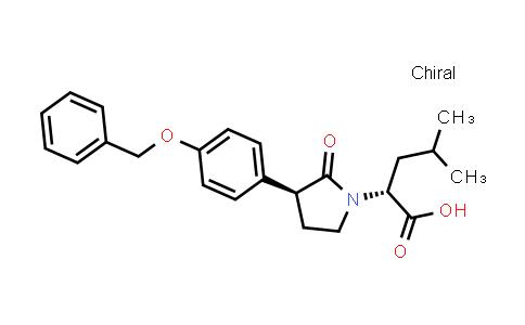 2203403-90-9 | (R)-2-((S)-3-(4-(Benzyloxy)phenyl)-2-oxopyrrolidin-1-yl)-4-methylpentanoic acid