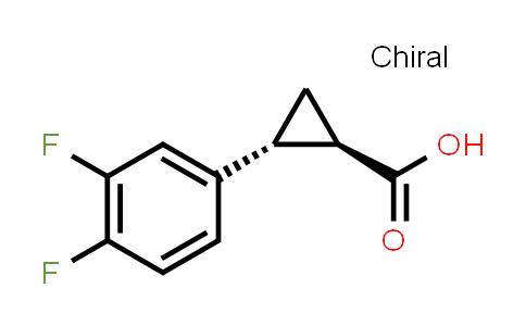 220352-36-3 | (1R,2R)-2-(3,4-difluorophenyl)cyclopropanecarboxylic acid