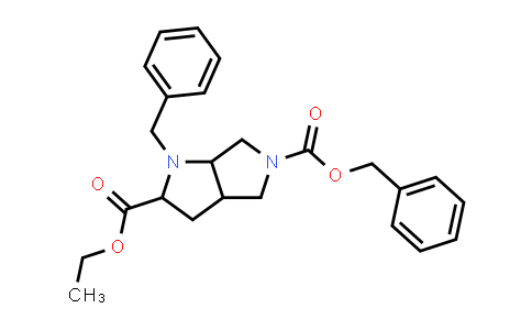 2203855-23-4   Racemic-(2S,3aS,6aS)-5-benzyl 2-ethyl 1-benzylhexahydropyrrolo[3,4-b]pyrrole-2,5(1H)-dicarboxylate