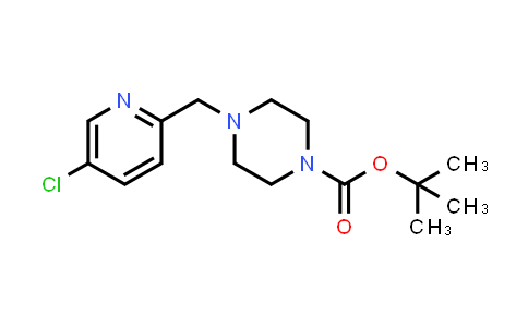 2204040-43-5   tert-Butyl 4-((5-chloropyridin-2-yl)methyl)piperazine-1-carboxylate