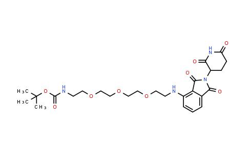 2204246-03-5   tert-Butyl (2-(2-(2-(2-((2-(2,6-dioxopiperidin-3-yl)-1,3-dioxoisoindolin-4-yl)amino)ethoxy)ethoxy)ethoxy)ethyl)carbamate