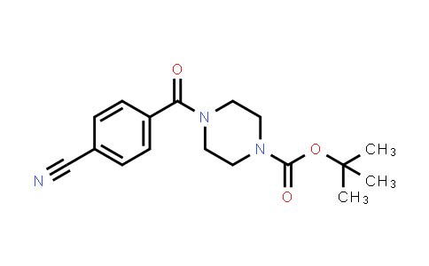 220470-24-6   tert-Butyl 4-(4-cyanobenzoyl)piperazine-1-carboxylate