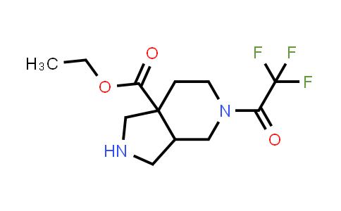 2204862-89-3   Ethyl 5-(2,2,2-trifluoroacetyl)octahydro-7aH-pyrrolo[3,4-c]pyridine-7a-carboxylate