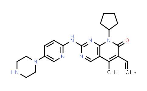 2204863-06-7 | 8-Cyclopentyl-5-methyl-2-((5-(piperazin-1-yl)pyridin-2-yl)amino)-6-vinylpyrido[2,3-d]pyrimidin-7(8H)-one