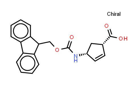 220497-65-4 | (+)-(1R,4S)-N-Fmoc-4-Aminocyclopent-2-enecarboxylic acid