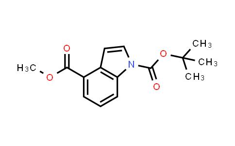 220499-11-6 | 1-(tert-Butyl) 4-methyl 1H-indole-1,4-dicarboxylate