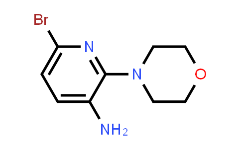 220499-47-8 | 6-Bromo-2-morpholin-4-ylpyridin-3-amine