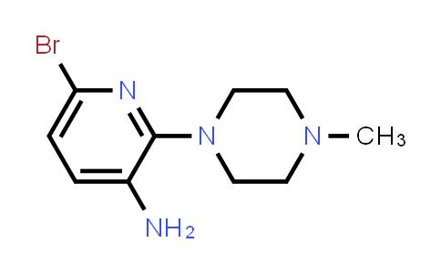 220499-48-9 | 6-Bromo-2-(4-methylpiperazin-1-yl)pyridin-3-amine