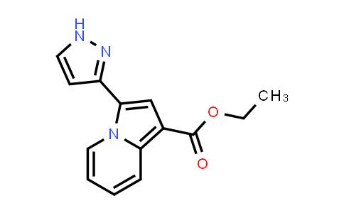 2206113-51-9   Ethyl 3-(1H-pyrazol-3-yl)indolizine-1-carboxylate