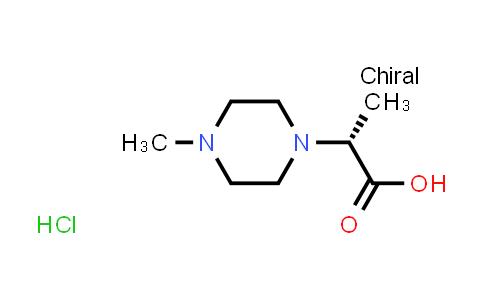 2206230-32-0 | (R)-2-(4-Methylpiperazin-1-yl)propanoic acid hydrochloride