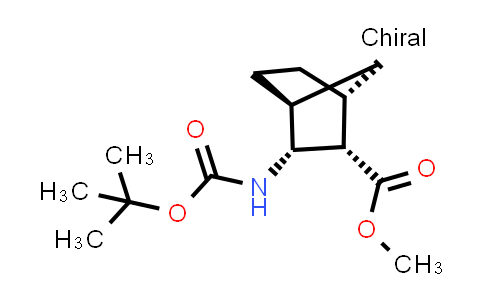 2206360-19-0 | rel-Methyl (1R,2S,3R,4S)-3-((tert-butoxycarbonyl)amino)bicyclo[2.2.1]heptane-2-carboxylate