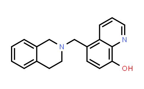 22080-20-2   5-[(1,2,3,4-Tetrahydroisoquinolin-2-yl)methyl]quinolin-8-ol
