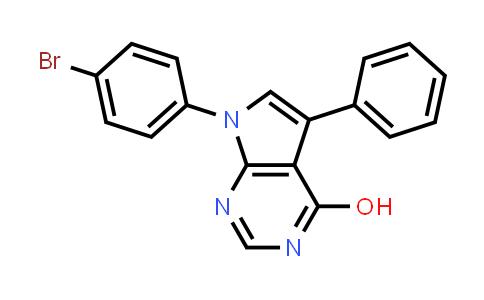 220835-18-7   7-(4-Bromophenyl)-5-phenyl-7H-pyrrolo[2,3-d]pyrimidin-4-ol