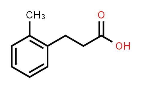 22084-89-5   3-(2-Methylphenyl)propionic acid