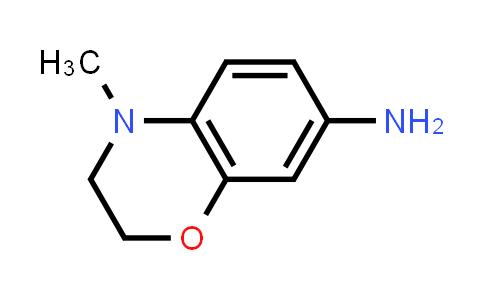 220844-82-6 | 4-Methyl-3,4-dihydro-2H-benzo[b][1,4]oxazin-7-amine