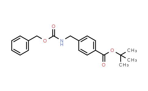 220851-46-7 | tert-Butyl 4-((((benzyloxy)carbonyl)amino)methyl)benzoate
