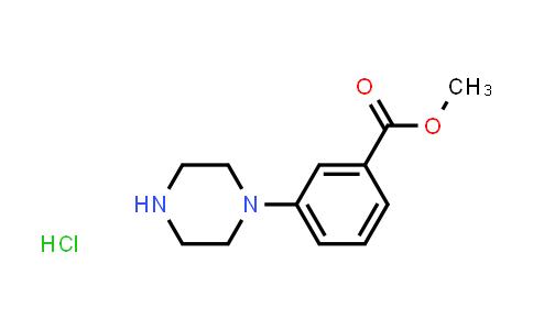 2208746-53-4 | Methyl 3-(piperazin-1-yl)benzoate hydrochloride