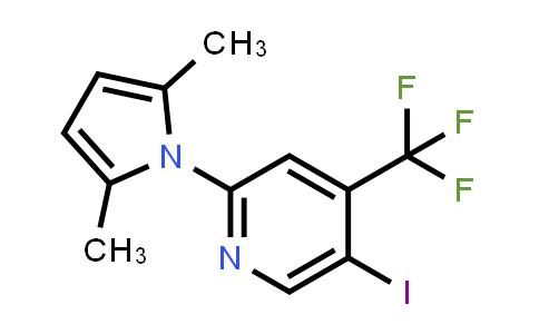 2209066-05-5   2-(2,5-Dimethyl-1H-pyrrol-1-yl)-5-iodo-4-(trifluoromethyl)pyridine