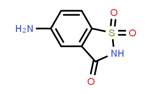 22094-61-7   5-Aminobenzo[d]isothiazol-3(2H)-one 1,1-dioxide