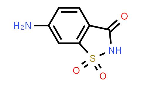22094-62-8 | 6-Aminobenzo[d]isothiazol-3(2H)-one 1,1-dioxide