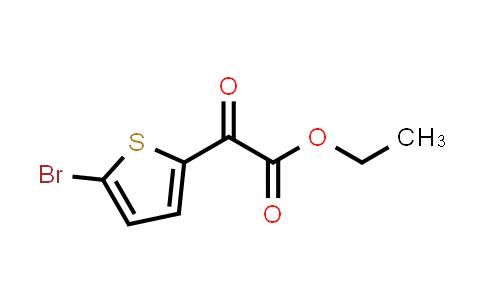 22098-10-8 | Ethyl 2-(5-bromothiophen-2-yl)-2-oxoacetate