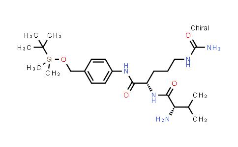 2210262-26-1 | (S)-2-((S)-2-Amino-3-methylbutanamido)-N-(4-(((tert-butyldimethylsilyl)oxy)methyl)phenyl)-5-ureidopentanamide