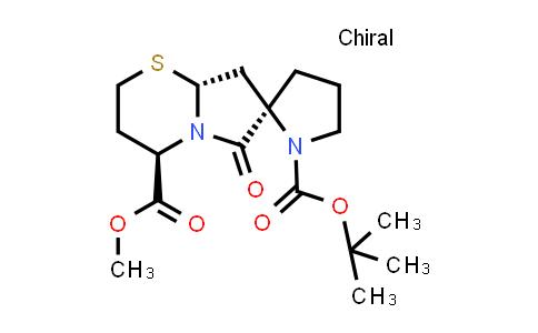 221040-37-5 | (2R,4'R,8a'R)-1-tert-butyl 4'-methyl 6'-oxohexahydrospiro[pyrrolidine-2,7'-pyrrolo[2,1-b][1,3]thiazine]-1,4'-dicarboxylate