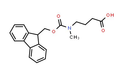 221124-57-8 | 4-((((9H-Fluoren-9-yl)methoxy)carbonyl)(methyl)amino)butanoic acid