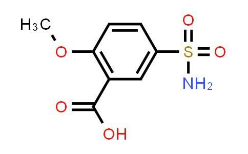 22117-85-7 | 2-Methoxy-5-sulfamoylbenzoic acid