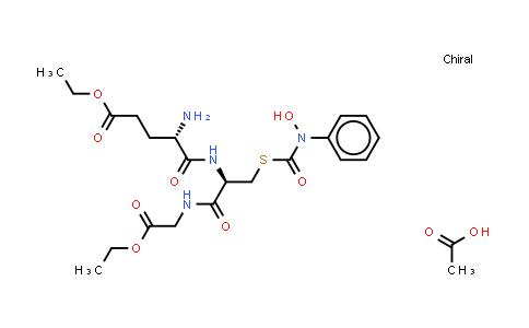 221174-31-8 | Glycine, L-γ-glutamyl-S-[(hydroxyphenylamino)carbonyl]-L-cysteinyl-, diethyl ester, monoacetate (salt) (9CI)