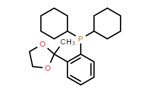 221187-50-4 | Dicyclohexyl(2-(2-methyl-1,3-dioxolan-2-yl)phenyl)phosphine